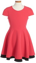 Milly Minis Toddler Girl's Italian Cady Fit & Flare Dress