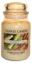 Yankee Candle 22oz Sugar Cane & Vanilla