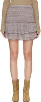 Etoile Isabel Marant Purple Julia Miniskirt