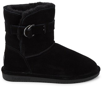 BearPaw Tessa Faux Fur-Lined Suede Boots