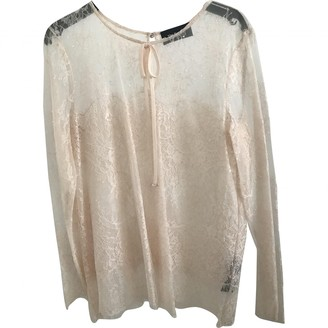 The Kooples Pink Lace Top for Women