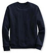 Lands' End Men's Crew Sweatshirt-Classic Navy