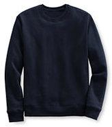 Lands' End Men's Crew Sweatshirt-Classic Navy