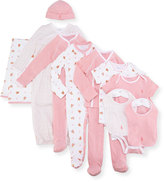 Ralph Lauren 11-Piece Boxed Layette Set, Pink, Size Newborn-9 Months