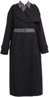 Rokh Double-Layer Trench Coat