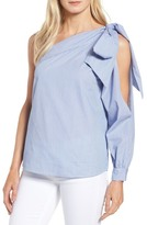 Halogen One-Shoulder Bow Top (Regular & Petite)