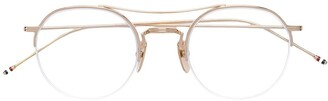Thom Browne Eyewear aviator glasses