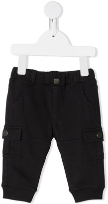 Emporio Armani Kids Cotton Cargo Pants