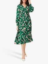 Thumbnail for your product : Phase Eight Emmy Floral Dress, Jade/Multi