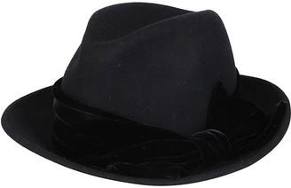 CA4LA Black Wool Hat