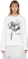 MM6 MAISON MARGIELA Off-White Graphic Sweatshirt