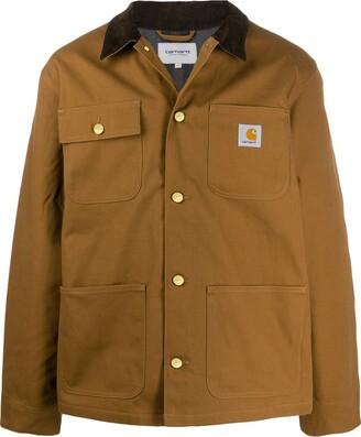 Carhartt WIP two tone shirt jacket