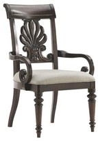 Tommy Bahama Island Traditions Chester Carved Upholstered Dining Chair Home