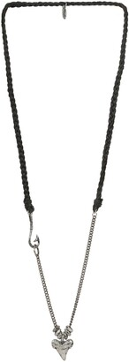 Ettika Shark Tooth Pendant Necklace