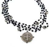 Black Diamond Virgins, Saints & Angels San Benito Magdalena in Silver | Jet |