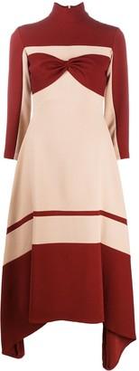 Atu Body Couture Crepe Finish Layer Dress