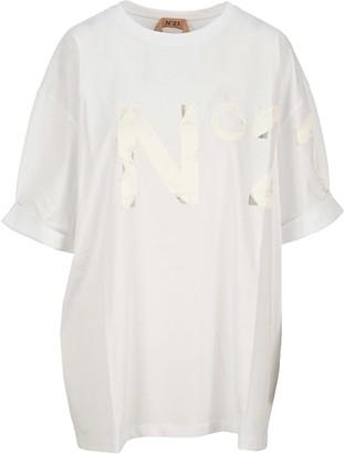 N°21 N21 Logo Patch T-shirt
