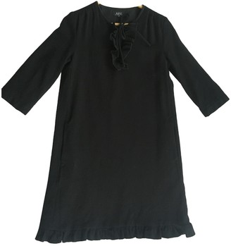 A.P.C. Black Wool Dresses