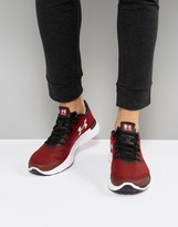 Under Armour Running Charged Lightning Trainers In Red 1285681-600