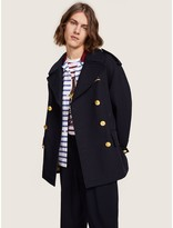 Tommy Hilfiger Crest Embroidery Peacoat