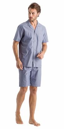 Hanro Men's Lynel Short Sleeve Pajama Set