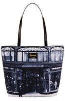 Harrods Heritage Store Front Shoulder Tote Bag