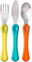 Tommee Tippee Explora Explora Cutlery Set - Blue/Green/Orange