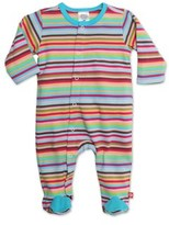 Zutano Super Stripe Footie.