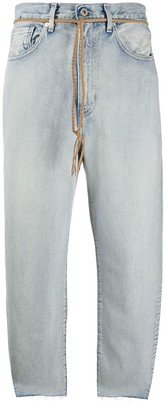 Levi's Made & Crafted High Rise Cropped Jeans