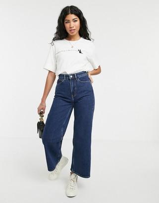 People Tree wide leg jeans