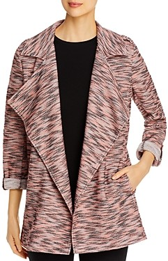 Bagatelle Tweed Open-Front Jacket