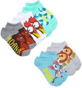 Disney Disney's Moana 5-Pk. Graphic-Print Socks, Little Girls & Big Girls
