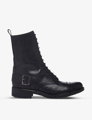 Bertie Portal leather ankle boots