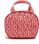 Miu Miu Quilted gingham make-up bag