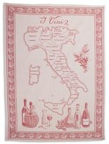 """Sur La Table Vini Italian Jacquard Kitchen Towel, 30"""" x 22"""""""