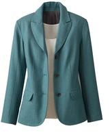 Coldwater Creek Herringbone tweed blazer
