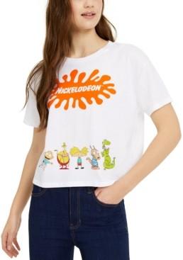 Nickelodeon Juniors' Logo Characters Graphic T-Shirt