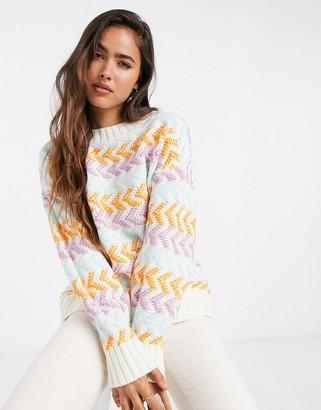 Gestuz Adna striped jumper in multi