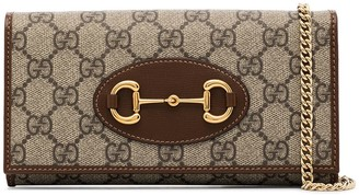 Gucci Horsebit GG Supreme crossbody bag