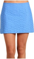 Lilly Pulitzer Tate Skirt (Worth Blue Sweet Daisy Eyelet) - Apparel