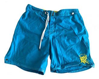 Polo Ralph Lauren Turquoise Cotton - elasthane Swimwear