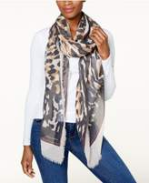 Vince Camuto Animal Print Wrap & Scarf in One