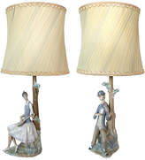 One Kings Lane Vintage Figural Musical Lamps