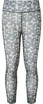 John Lewis Girls' Geo Sports Leggings, Grey