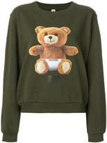 Moschino teddy bear printed sweatshirt