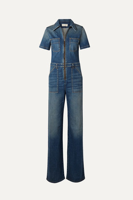 Nili Lotan Cannes Denim Jumpsuit - Dark denim