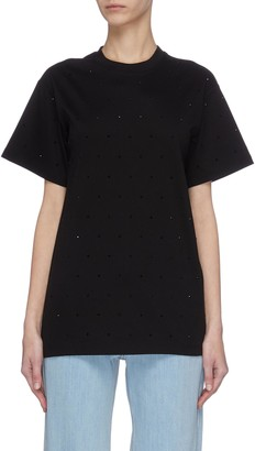 Victoria Victoria Beckham Embellished T-shirt