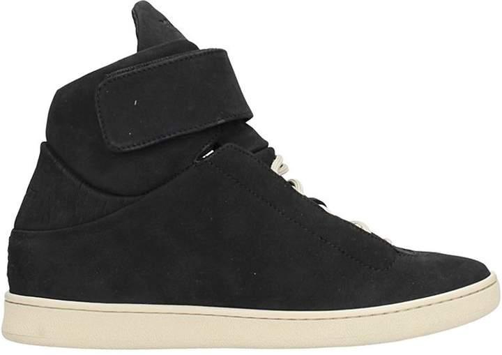 Ylati Black Suede Sneakers