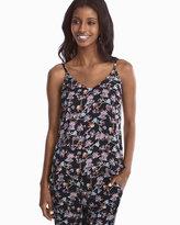 White House Black Market Reversible Woven Floral Cami