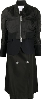 Sacai Cropped Bomber Jacket
